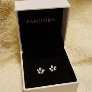 Pandora Cherry blossom earrings